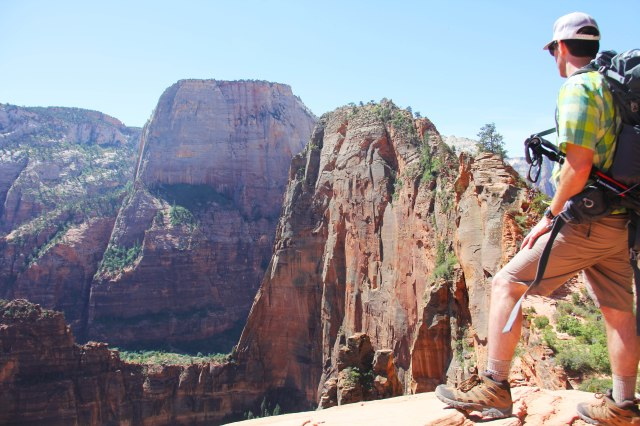 Me on Angels Landing